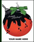 Sealcoat ornament holiday greeting card