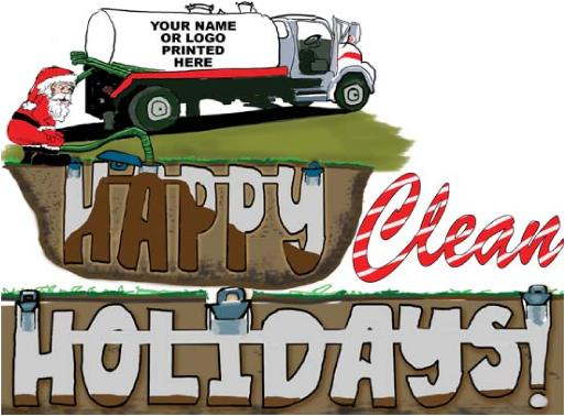 Septic pumping holidays Holiday Holiday Greeting Christmas Card