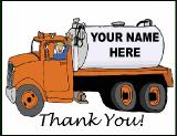 Septic Tank Thank You Greeting Card