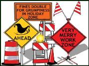 TRAFFIC SIGNS MERRY ZONE