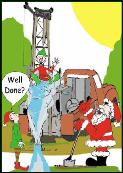 Well done well rig holiday greeting card